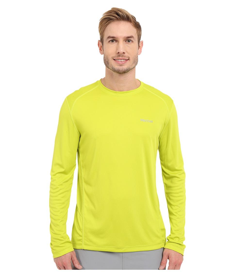 Marmot - Windridge LS (Bright Lichen) Men's Long Sleeve Pullover