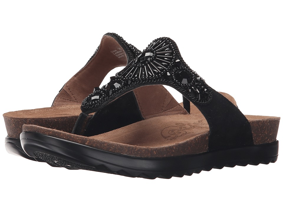 Dansko - Pamela (Black Jewelled) Women's Sandals