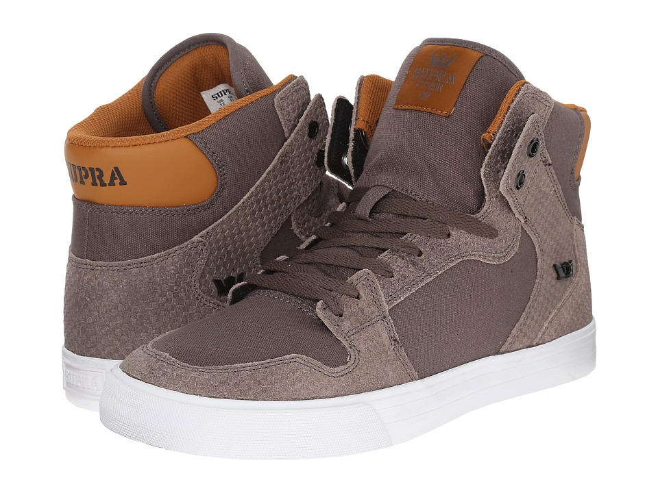 Supra Vaider (Morel/Cathay Spice/White) Skate Shoes