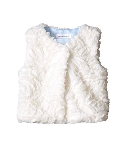 Pumpkin Patch Kids - Urban Folk Fur Vest (Infant) (Vanilla) Girl