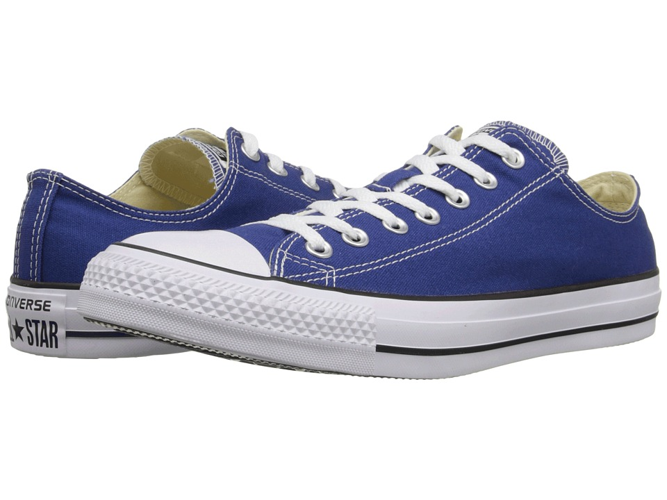 Converse - Chuck Taylor All Star Seasonal OX (Roadtrip Blue/White/Black) Athletic Shoes