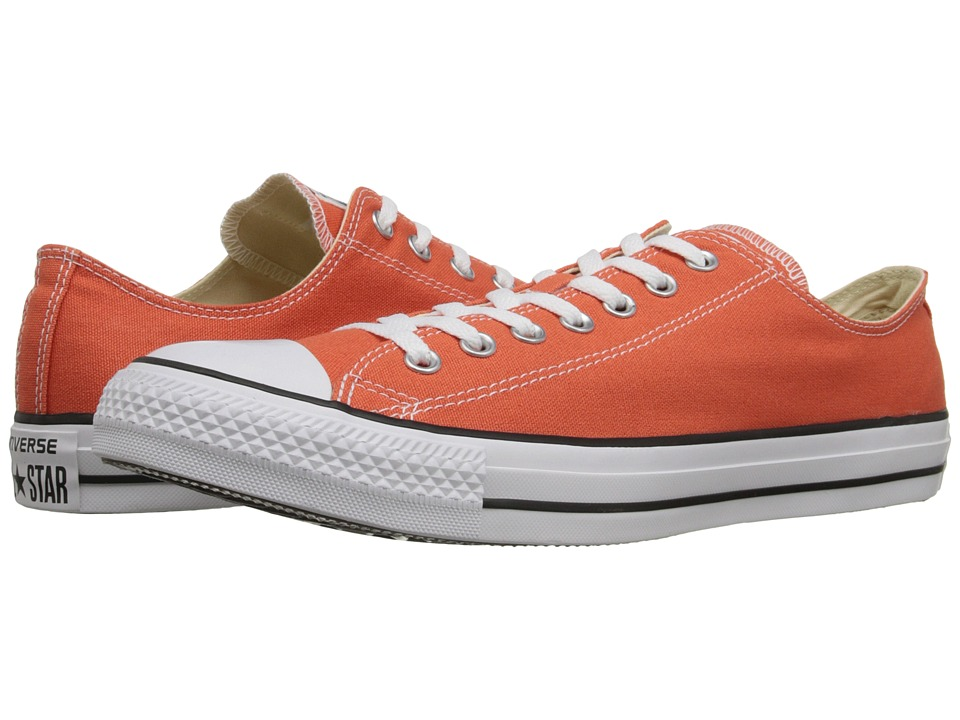 Converse - Chuck Taylor All Star Seasonal OX (My Van is on Fire/White/Black) Athletic Shoes