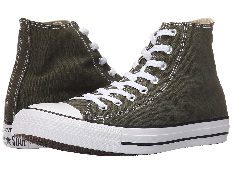 Converse - Chuck Taylor All Star Seasonal Color Hi (Herbal/White/Black) Lace up casual Shoes