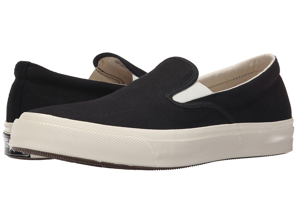 Converse - Deck Star '70 Slip (Black/White/Egret) Slip on Shoes