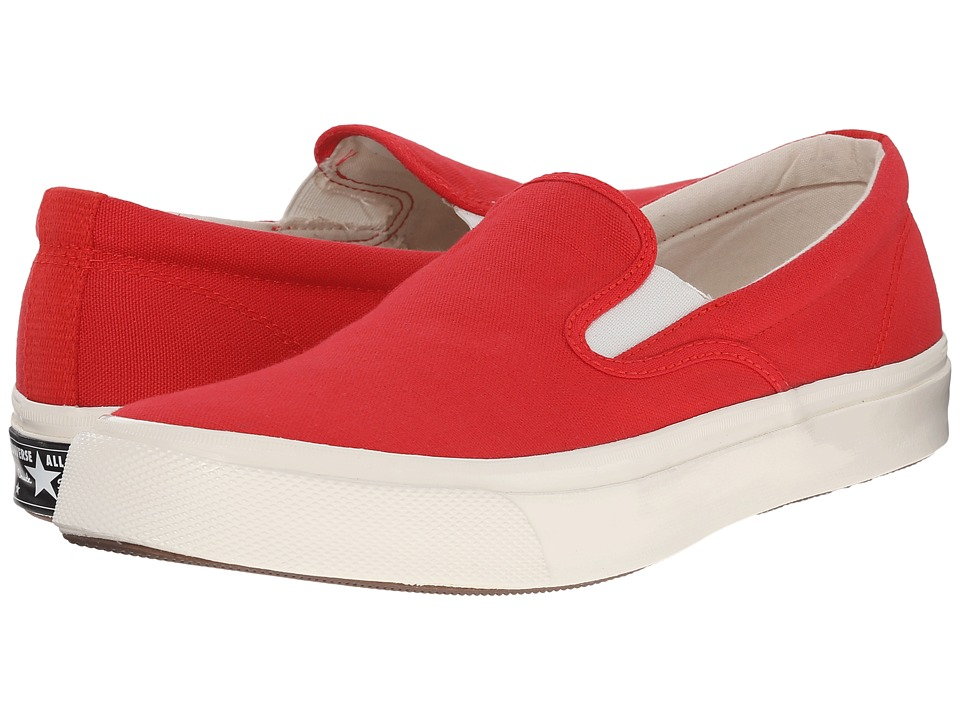 Converse - Deck Star '70 Slip (Red/White/Egret) Slip on Shoes
