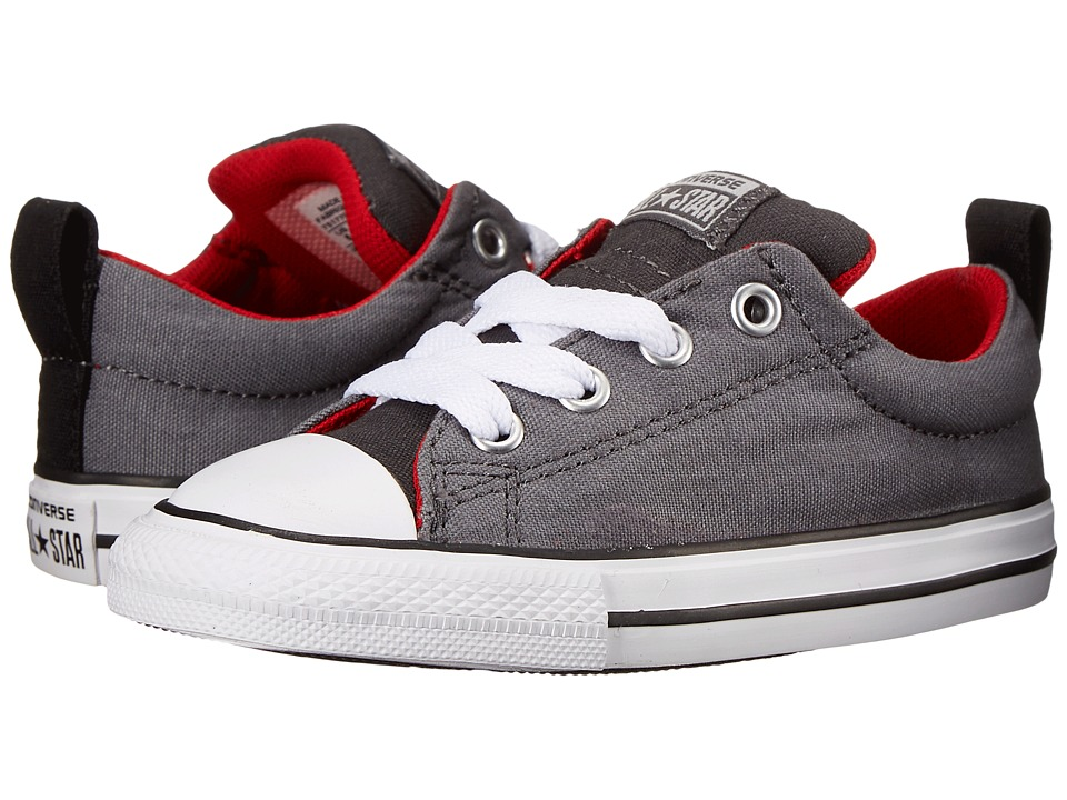 Converse Kids - Chuck Taylor All Star Street Slip (Infant/Toddler) (Storm Wind/Casino/Thunder) Boy's Shoes