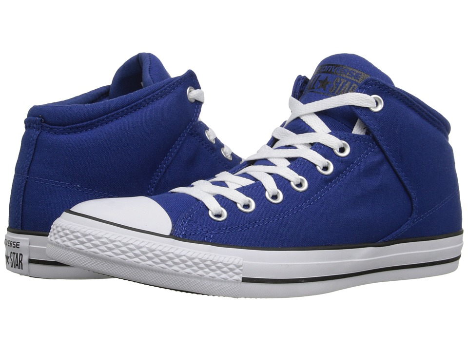 Converse Chuck Taylor(r) All Star(r) Hi Street Canvas (Roadtrip Blue/White/Black) Men
