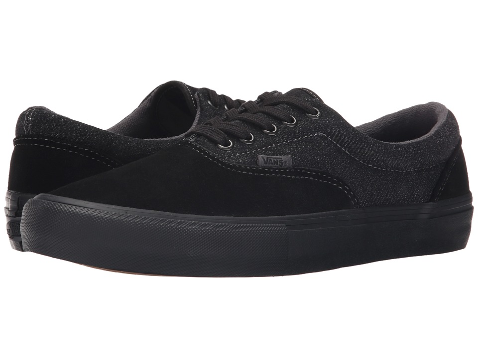 Vans - Era Pro (Black/Black/Asphalt) Men's Skate Shoes