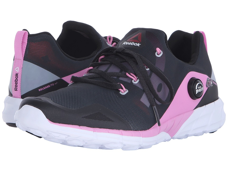 Reebok - ZPump Fusion 2.0 (Coal/Black/Icono Pink/White) Women's Running Shoes