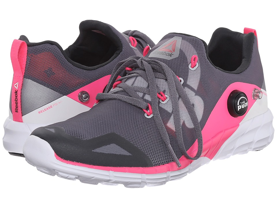 Reebok - ZPump Fusion 2.0 (Alloy/Tin Grey/Solar Pink/Coal/White) Women's Running Shoes