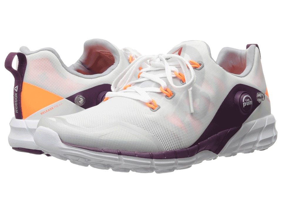 Reebok - ZPump Fusion 2.0 (Silver Metallic/White/Opal/Electric Peach/Celestial Orchid/Red) Women's Running Shoes