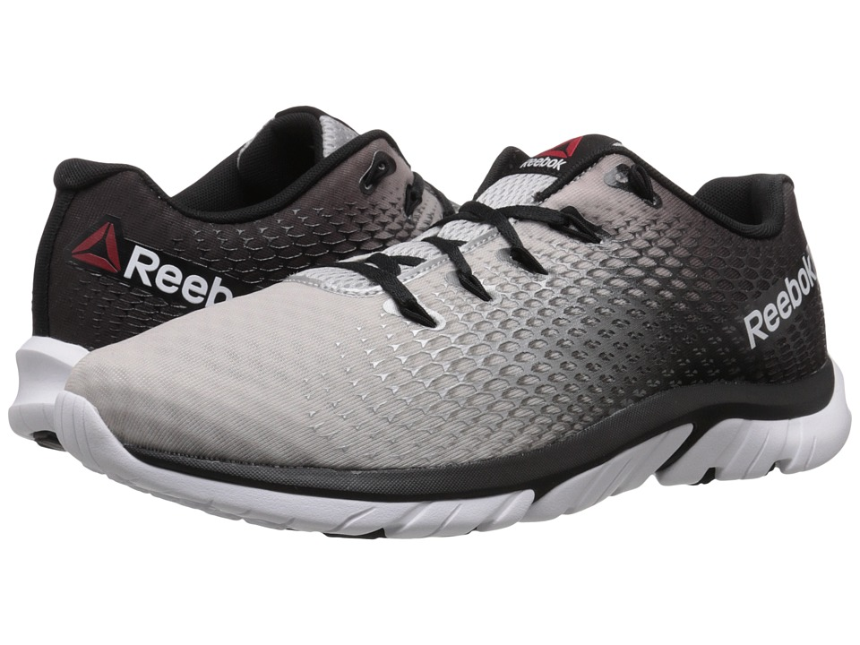Reebok - ZStrike Elite (Pure Silver/Steel/Black/White/Coal) Men's Running Shoes