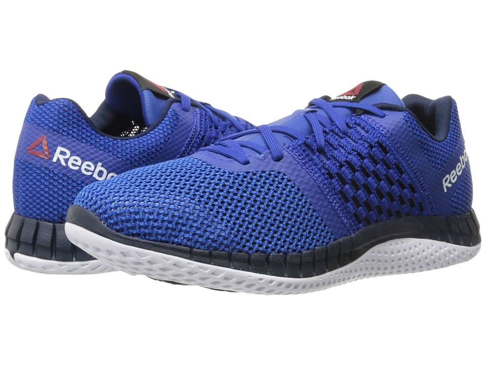 Reebok - ZPrint Run (Collegiate Royal/Blue Sport/Collegiate Navy/White) Men
