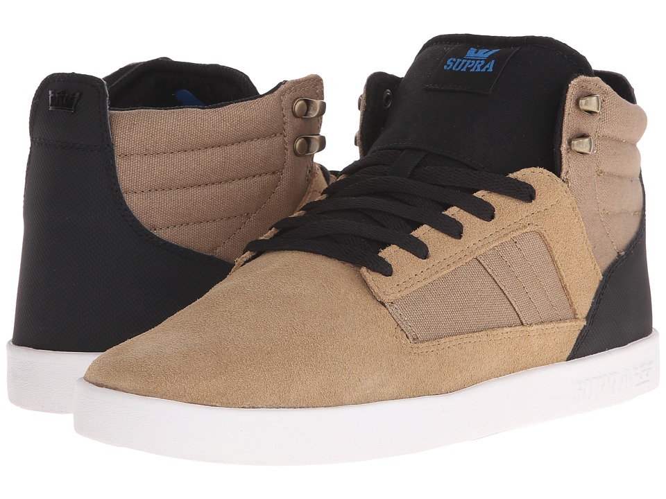 Supra - Bandit (Khaki/Black/White) Men's Skate Shoes