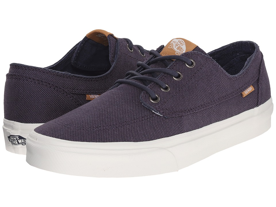 Vans - Brigata ((Indigo Check) Blueprint/Parisian Night) Skate Shoes