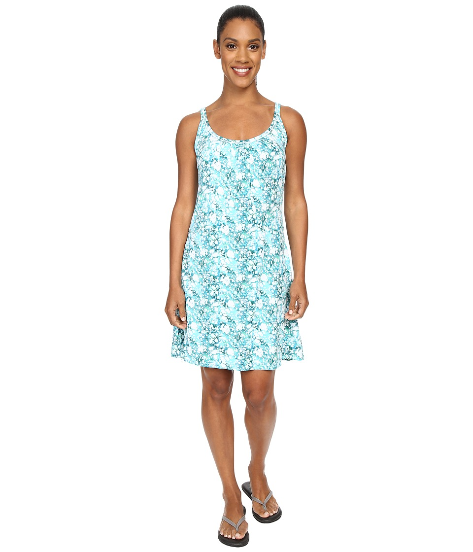 ExOfficio - Sol Cool Dress (Deep Sea Print) Women's Dress
