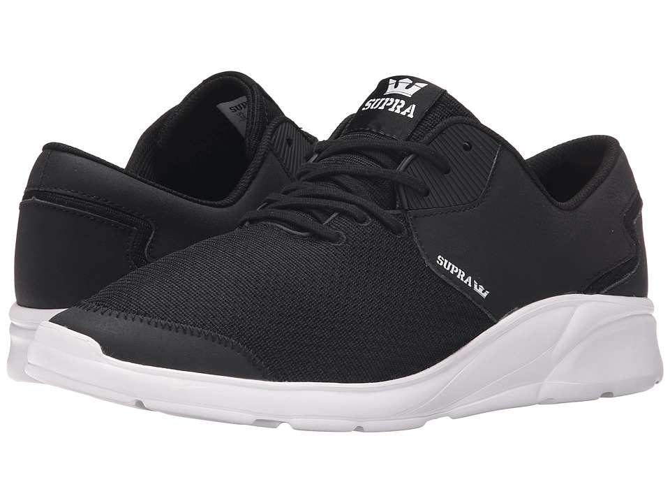 Supra - Noiz (Black/White) Men's Skate Shoes