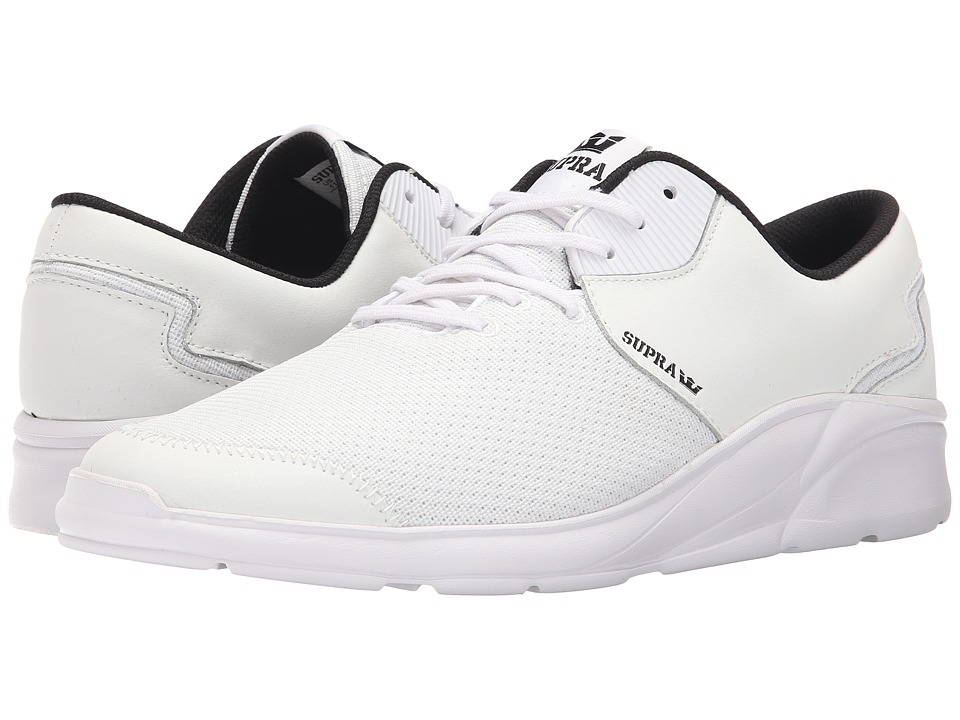 Supra - Noiz (White/White) Men's Skate Shoes