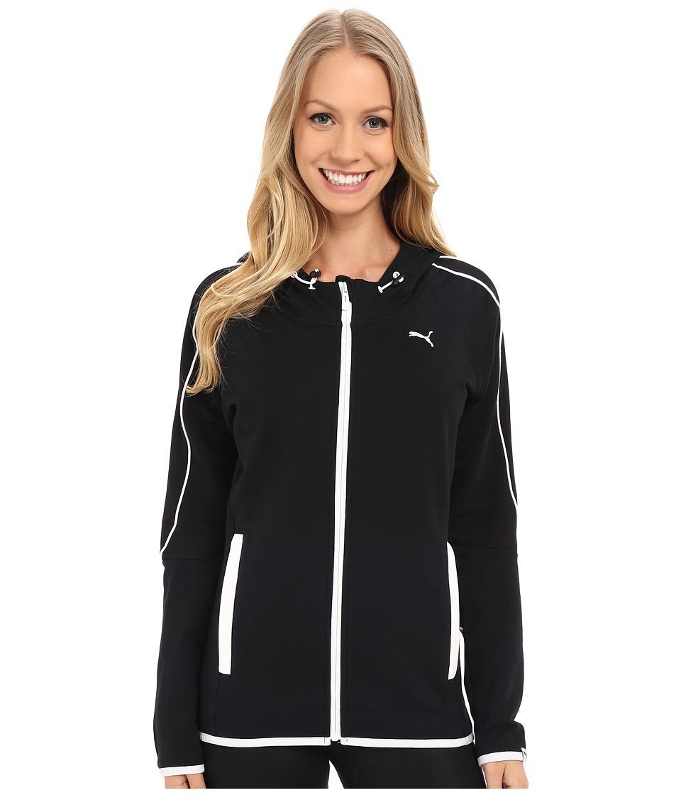 PUMA - Style Swagger ZTH Jacket (Black) Women's Sweatshirt