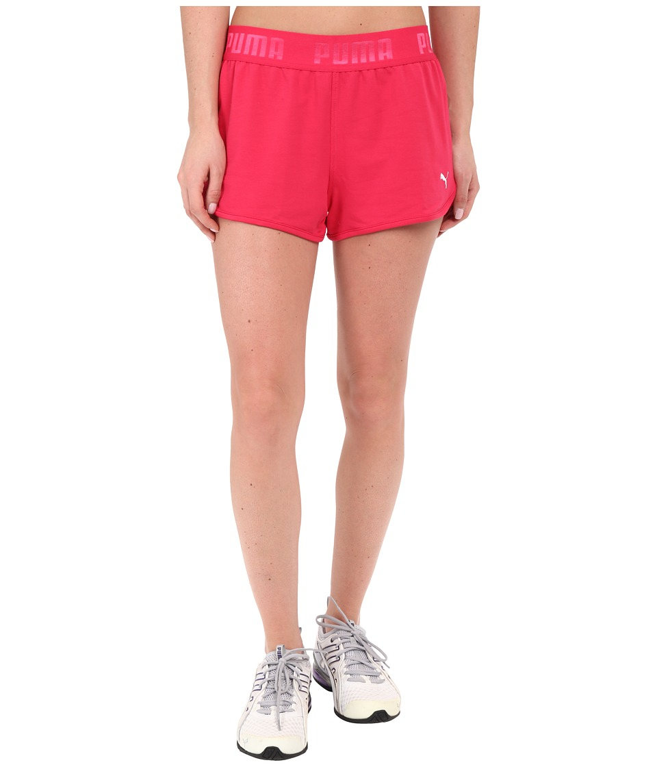 PUMA - Active Forever Shorts (Rose Red) Women's Shorts