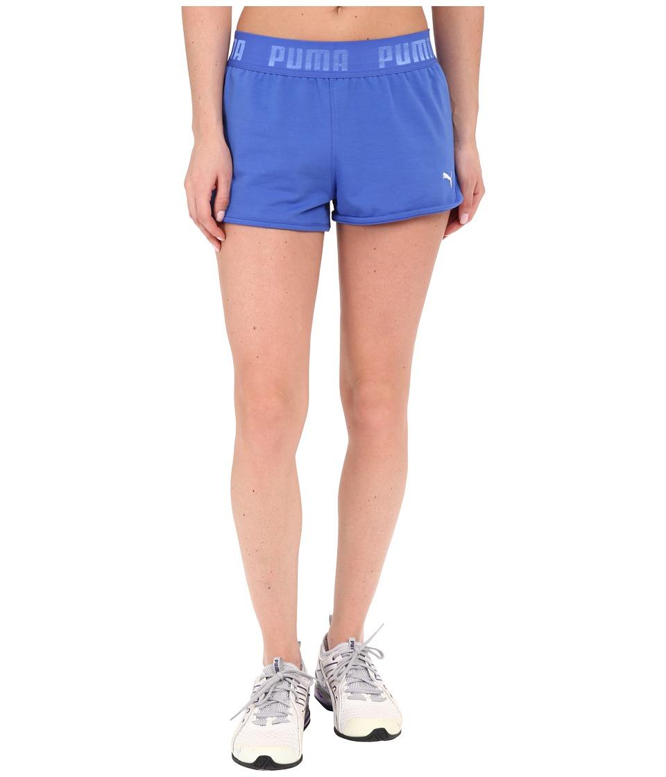 PUMA - Active Forever Shorts (Dazzling Blue) Women's Shorts