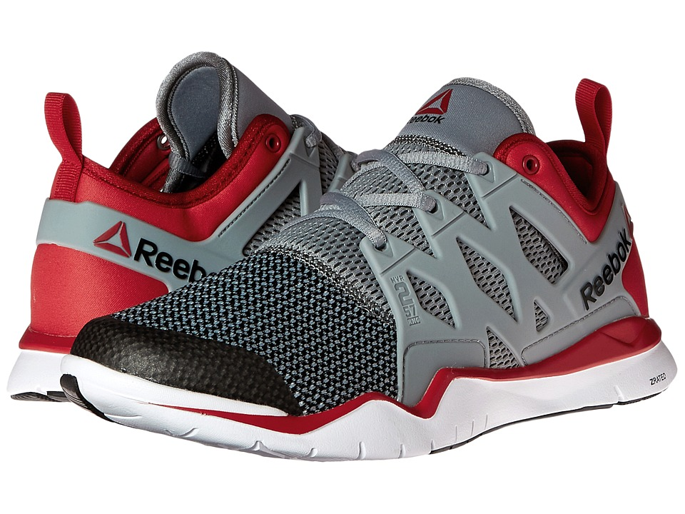 Reebok - ZCut TR 3.0 (Flat Grey/Excellent Red/Black/White) Men's Cross Training Shoes