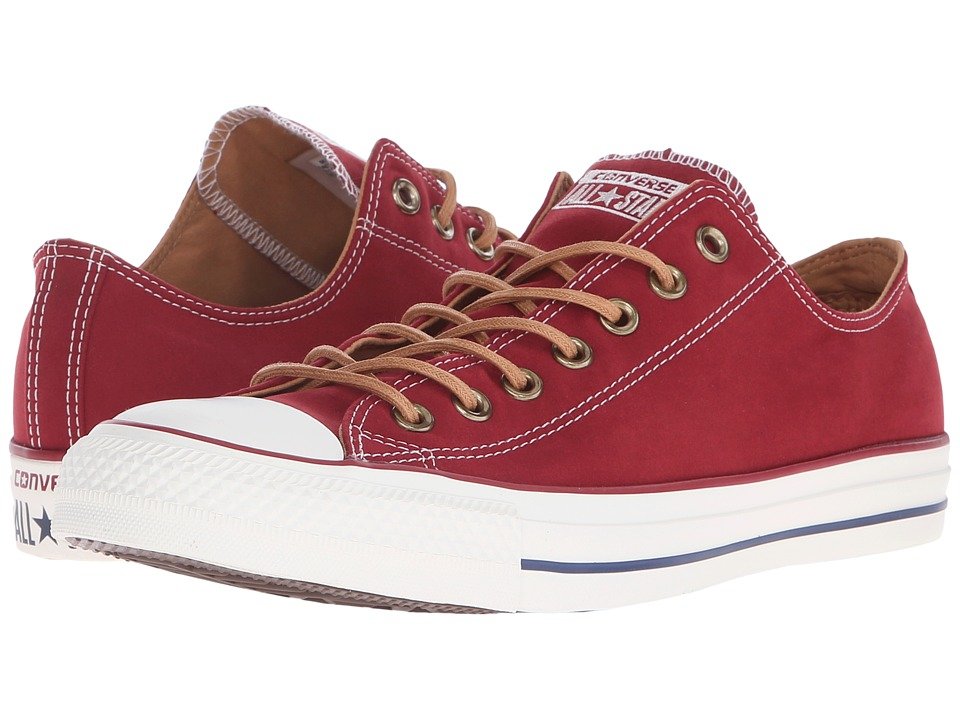 Converse Chuck Taylor All Star Peached Canvas Ox (Back Alley Brick/Biscuit/Egret) Lace up casual Shoes