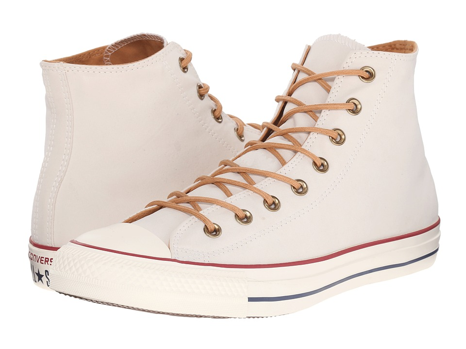 Converse - Chuck Taylor All Star Peached Canvas Hi (Parchment/Biscuit/Egret) Lace up casual Shoes