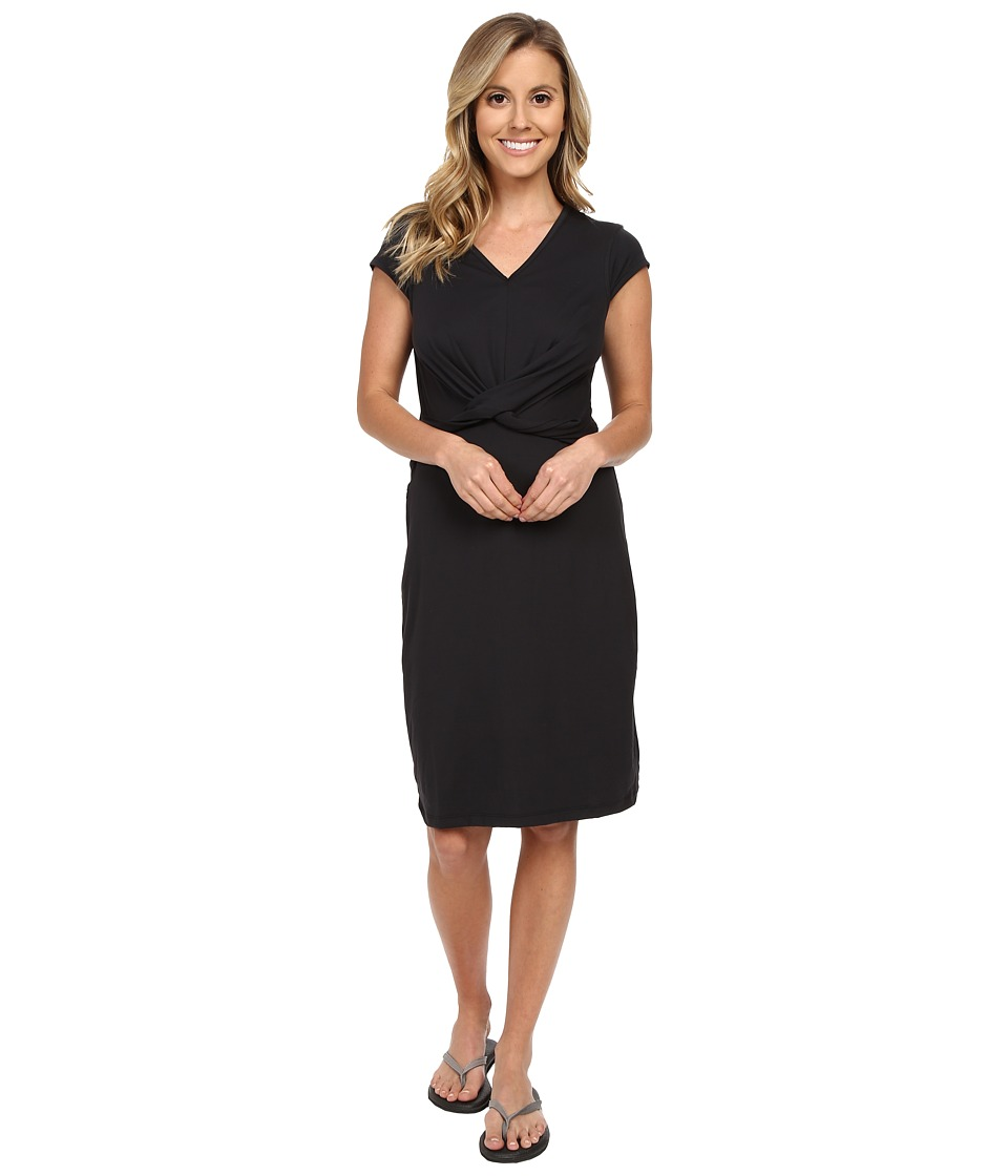 ExOfficio - Wanderlux Twist Dress (Black) Women's Dress