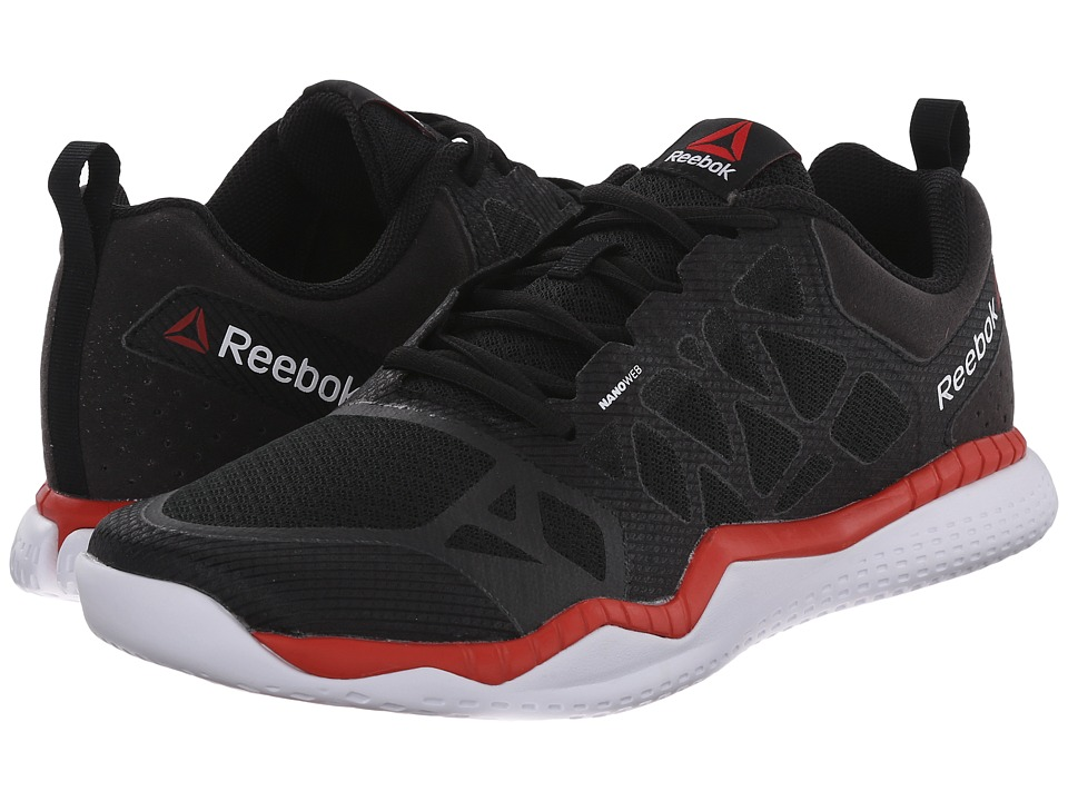 Reebok - ZPrint Train (Black/Motor Red/White) Men's Cross Training Shoes