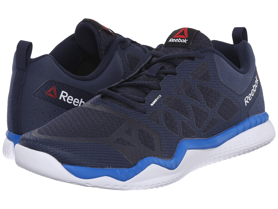 Reebok - ZPrint Train (Collegiate Navy/Blue Sport/White) Men's Cross Training Shoes