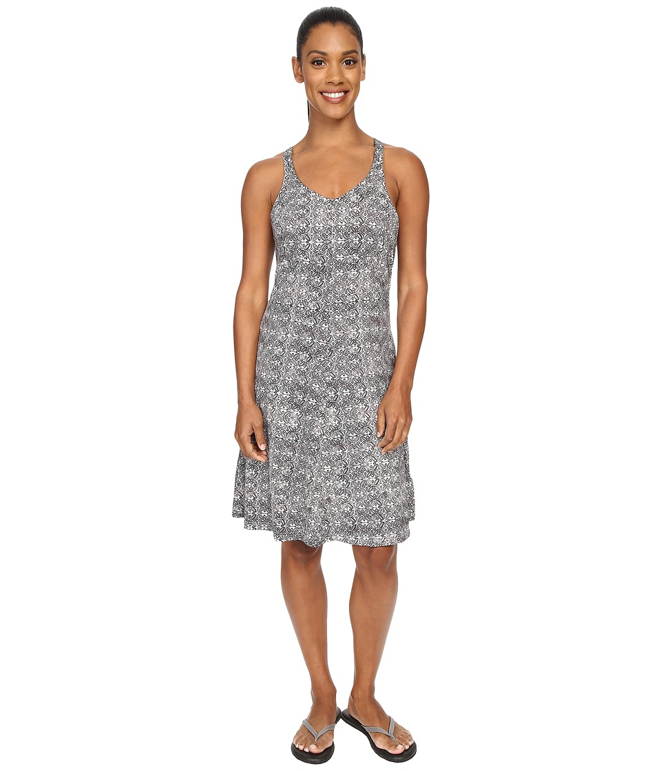 ExOfficio Wanderlux Tank Dress (Dark Pebble Print) Women