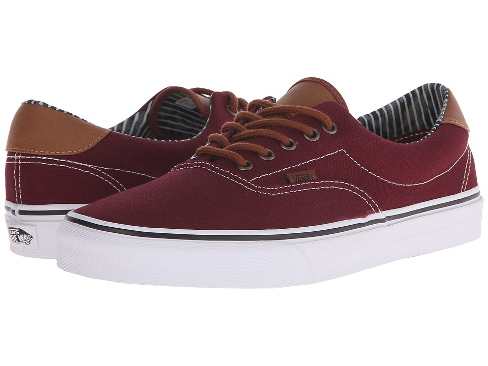 Vans - Era 59 ((C&L) Port Royal/Stripe Denim) Skate Shoes