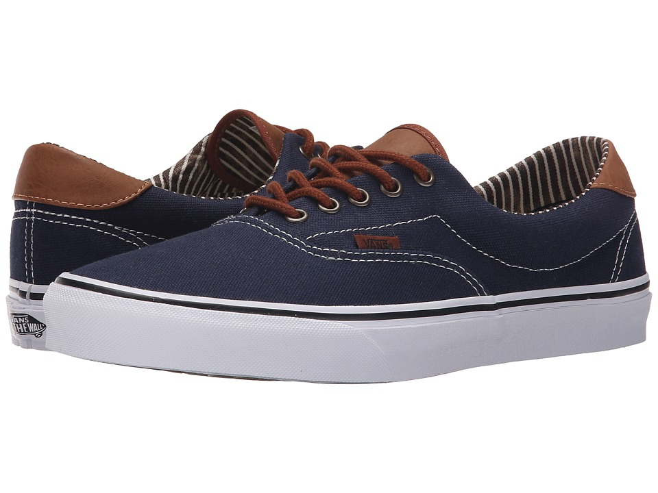 Vans - Era 59 ((C&L) Dress Blues/Stripe Denim) Skate Shoes