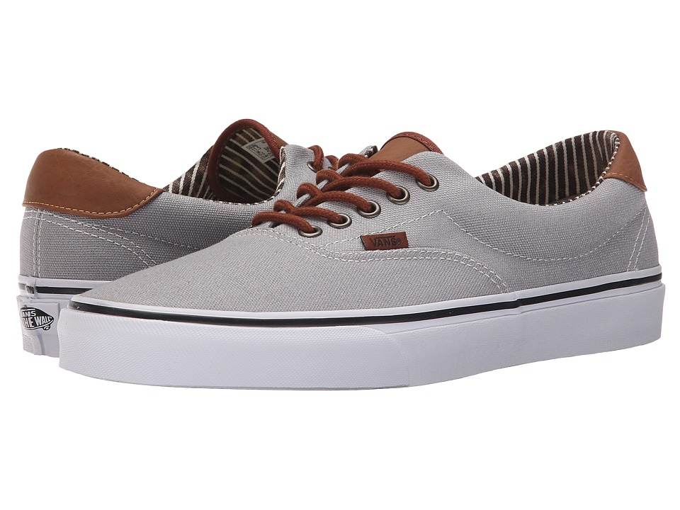 Vans - Era 59 ((C&L) Silver Sconce/Stripe Denim) Skate Shoes