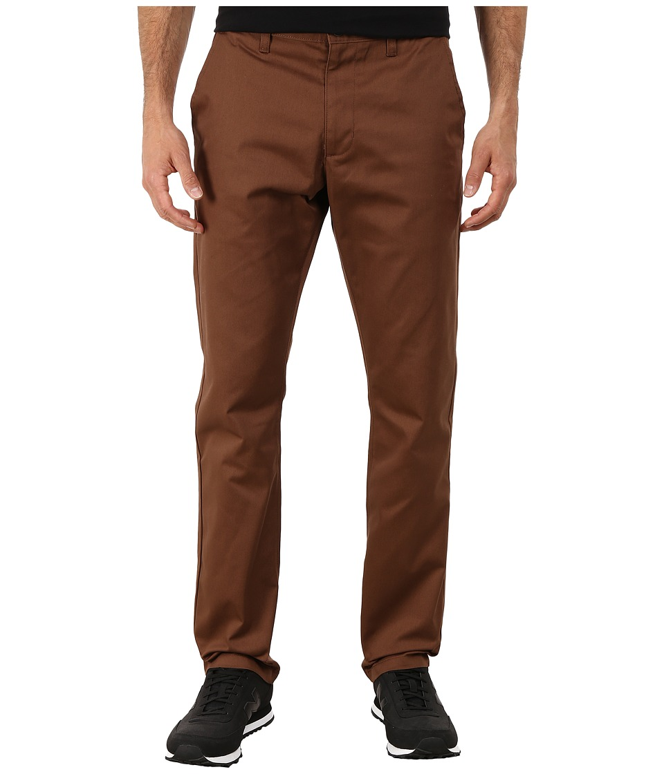 RVCA - The Week-End Pant (Cocoa) Men's Casual Pants