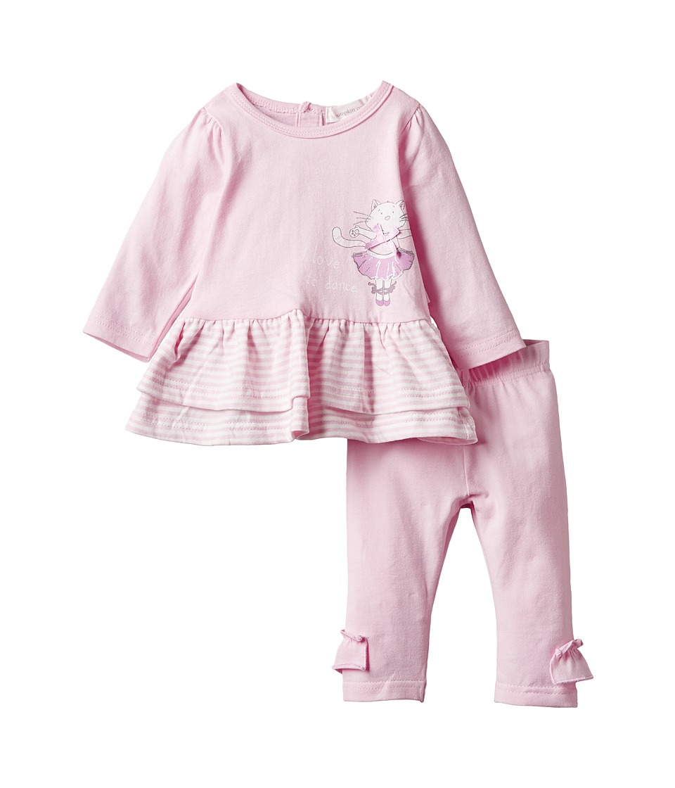 Pumpkin Patch Kids - Dance Academy Frilly Set (Infant) (Orchid Pink) Girl's Active Sets