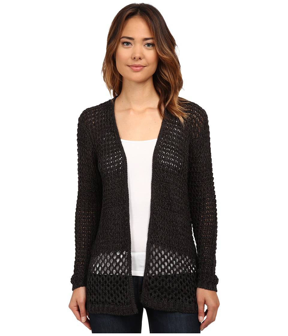Hurley - Hattie Cardigan Sweater (Black) Women's Sweater