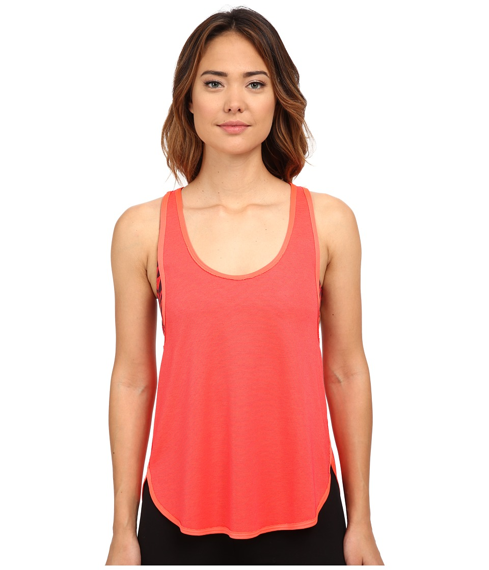 Hurley - Dri-Fit Novelty Tank Top (Bright Crimson) Women