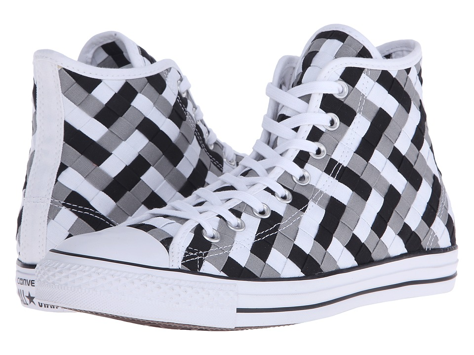Converse - Chuck Taylor All Star Woven Hi (Dolphin/Black/White) Athletic Shoes