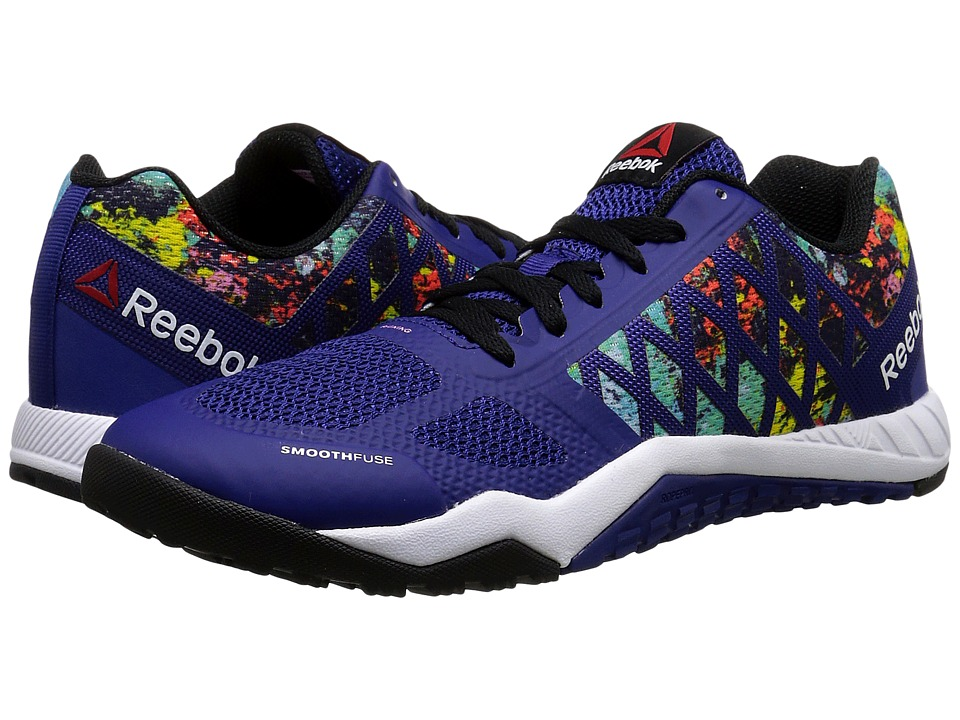 Reebok - Ros Workout TR (Night Beacon/Electric Blue/Icono Pink/White/Black) Women's Cross Training Shoes