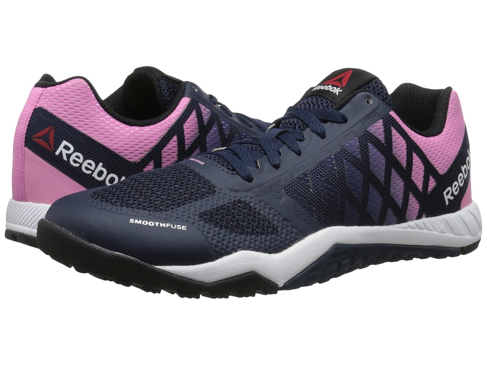 Reebok - Ros Workout TR (Collegiate Navy/Icono Pink/Black/White) Women's Cross Training Shoes