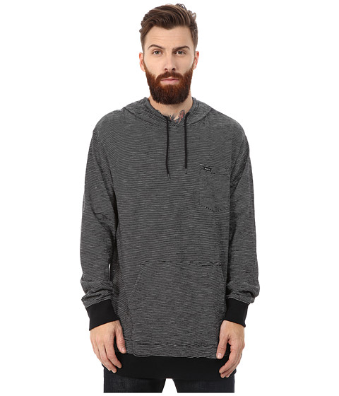 RVCA - Feeder Hoodie (Pirate Black) Men's Sweatshirt