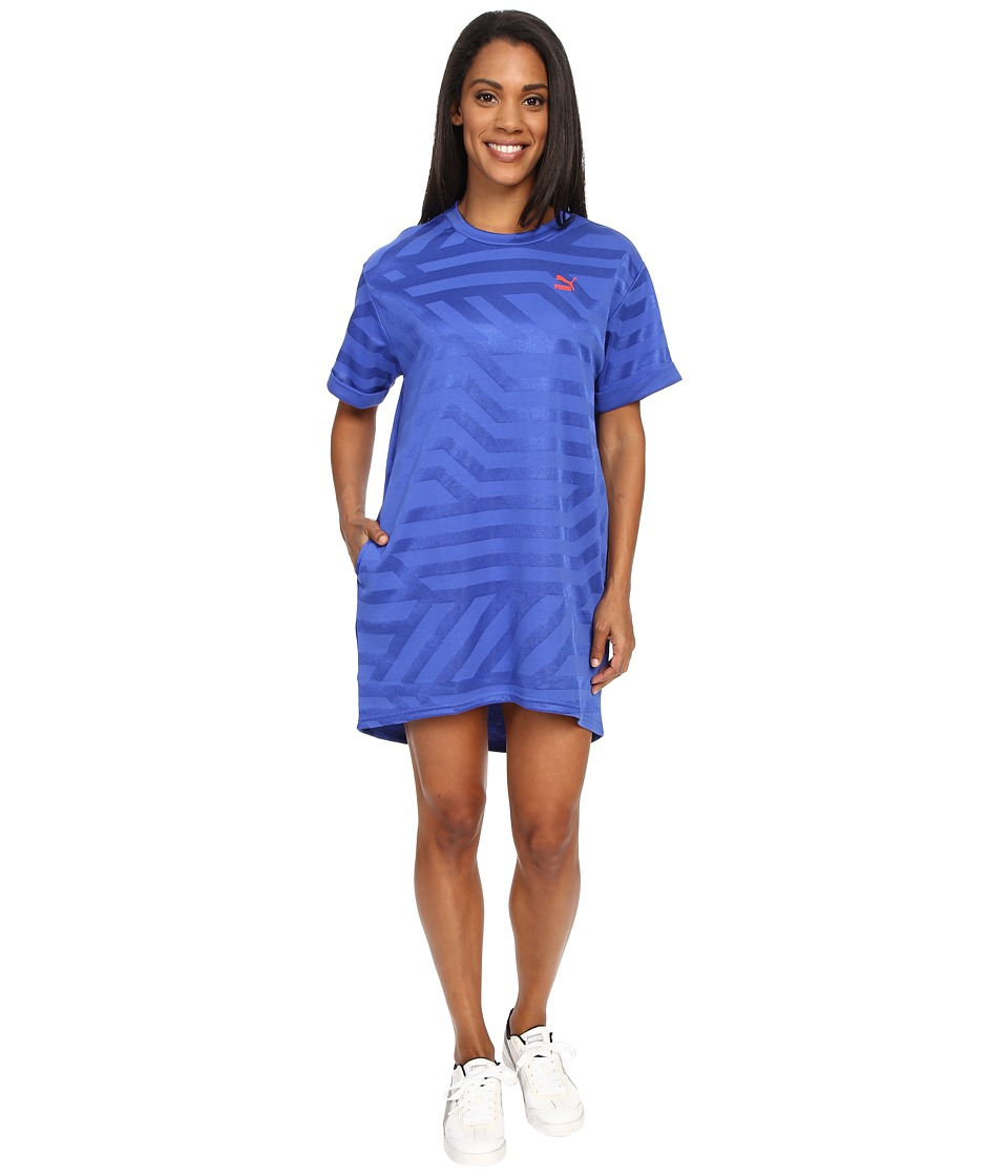 PUMA - Story Dress (Dazzling Blue) Women's Dress