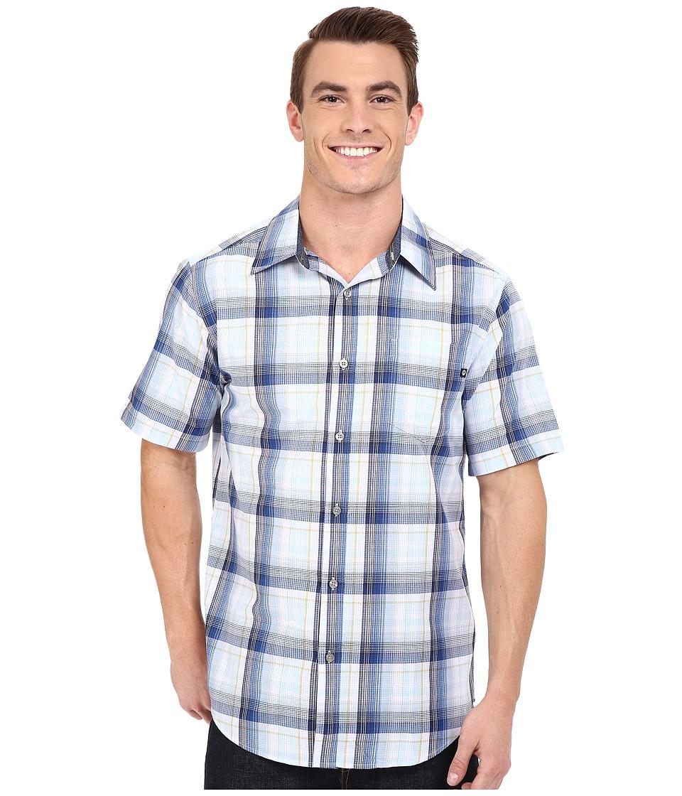 Marmot - Notus Short Sleeve (Mosaic Blue) Men's Short Sleeve Button Up