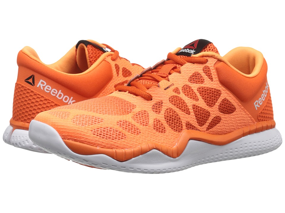 Reebok - ZPrint Train (Electric Peach/Energy Orange/White/Black) Women