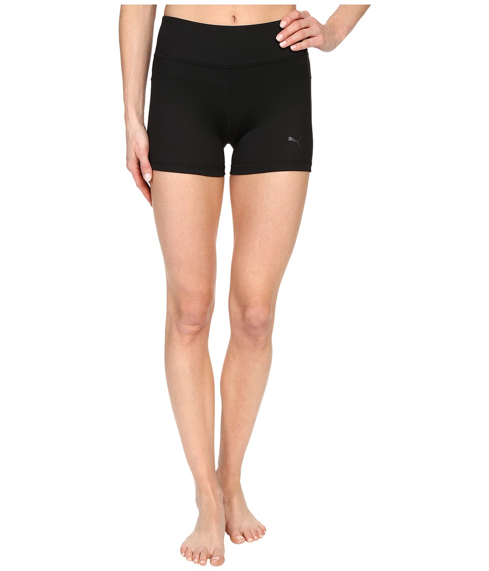 PUMA - Essential Short Tights (Black) Women's Workout