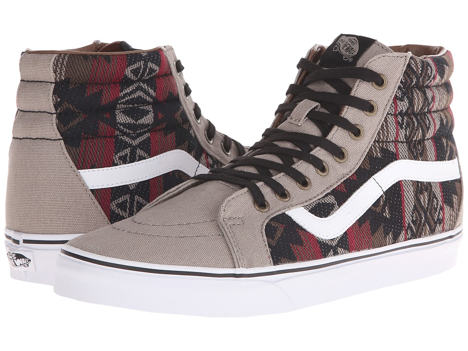 Vans - SK8-Hi Reissue ((Inca) Moon Rock/Dachshund) Skate Shoes