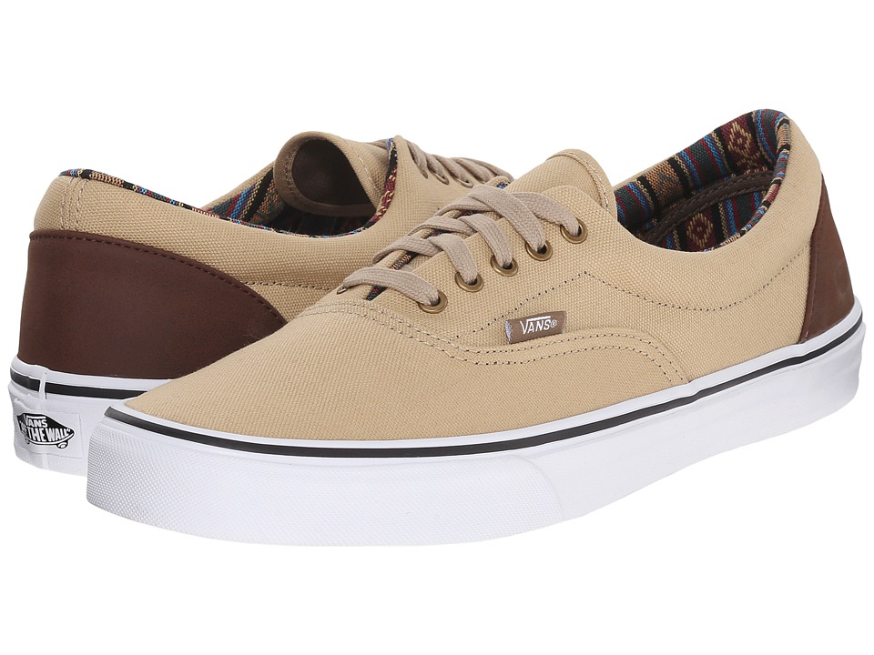 Vans - Era ((Indo Pacific) Khaki/True White) Skate Shoes