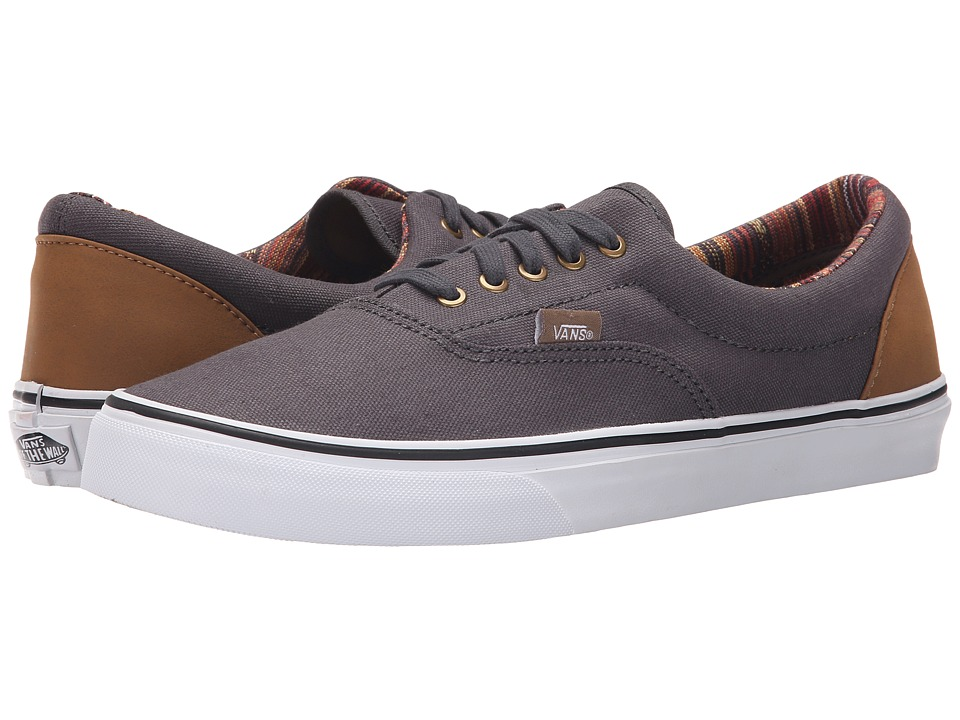 Vans - Era ((Indo Pacific) Dark Shadow/True White) Skate Shoes